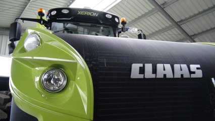 Tractor Xerion Claas new generation - Agritechnica 2013 - Xerion 4000 - Xerion 5000
