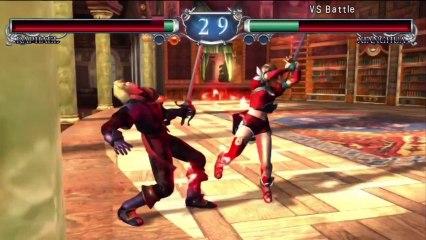 Gameplay Video - Raphael VS Xiangh de Soulcalibur II HD Online
