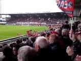 Guingamp : ambiance dans le stade avant le match