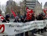 Rennes. Manifestation contre la réforme des rythmes scolaires