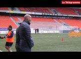 Lorient. Zidane assiste à l'entraînement des Merlus
