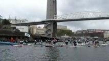 Penn ar Bed Paddle race dans le port de Brest