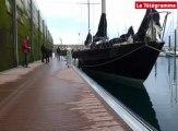 Voile. Les Pen Duick III et VI ont pris la mer, direction Saint-Quay Portrieux