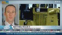 La baisse des résultats de Caterpillar et la hausse des prévisions de bénéfices de Ford: Matthieu Rolin, dans Intégrale Bourse - 24/10