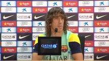 """Carles Puyol: """"La Liga no se va a decidir aquí pase lo que pase"""""""