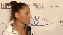 Interview Alexandra CADANTU Internationaux Féminins de la Vienne 2013