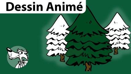 Vidéo Dessin animé Noël Mon beau Sapin.