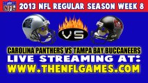 Watch Carolina Panthers vs Tampa Bay Buccaneers NFL Live Stream