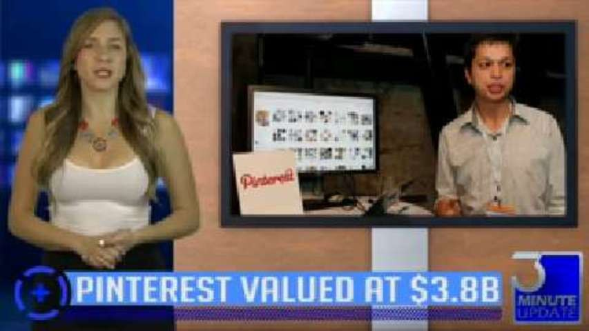 Pintrest Valued at $3.8 Billion!