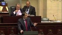 Le député Laurent Louis cite Dieudonné, Alain Soral et Kemi Seba au Parlement belge
