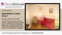 Studio Apartment for rent - Boulogne Billancourt, Boulogne Billancourt - Ref. 6041