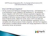 Sap process integration (pi)  exchange infrastructure (xi) placements online training in canada@magnifictraining.com