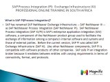 SAP Process Integration (PI)  Exchange Infrastructure (XI)  PROFESSIONAL ONLINE TRAINING IN SOUTH AFRICA@magnifictraining.com