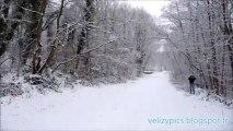 Neige Vélizy - Janvier 2009