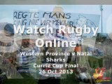 Watch Live Rugby Stream Western Province vs Natal Sharks