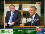Mubashir Lucman funny comments on Nawaz Obama Pictures