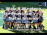 Live Rugby Streaming Western Province vs Natal Sharks Here