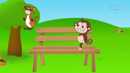 Pop! Goes The Weasel - Animated Nursery Rhyme For Kids