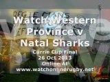 Western Province vs Natal Sharks Live Rugby