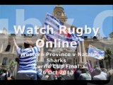 Currie Cup Western Province vs Natal Sharks Live Streaming
