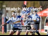 Western Province vs Natal Sharks Live Currie Cup