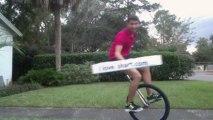 Unicyclist Shart