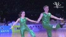 Jeux Mondiaux des Sports de Danse 2013 - Kaohsiung -  ROCK ACROBATIQUE