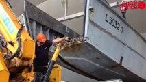 L'association sauve une barge du débarquement - Restauration en vue d'une péniche du débarquement