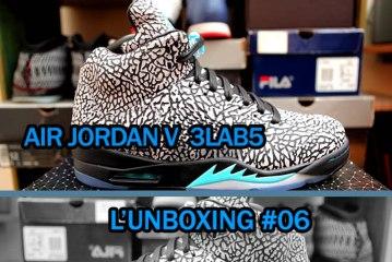 L'UNBOXING  #06  AIR JORDAN V  3LAB5
