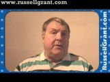 Russell Grant Video Horoscope Taurus October Saturday 26th 2013 www.russellgrant.com