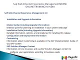 Sap Web Channel Experience Management(WCEM) ONLINE TRAINING IN INDIA@magnifictraining.com