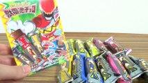 【JDC78】獣電池チョコ累計78箱!開封レビュー ブレイブ�