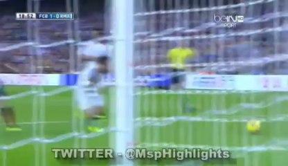 Barcelona vs Real Madrid 1:0 Neymar