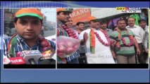 Youth Akali in Punjab & BJP in Haryana protest against onion' rising price