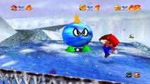 Super Mario 64 - Chez le Roi des Neiges - Etoile 2 : Combattez le gros moche givré