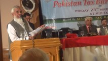 Speech on Broadening of Tax Base by Muhammad Younas Ghazi FCA