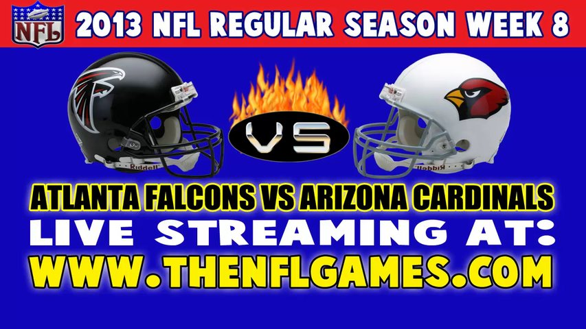 "Watch ""NFL"" Atlanta Falcons vs Arizona Cardinals Live Game Online"