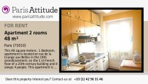 1 Bedroom Apartment for rent - Canal St Martin, Paris - Ref. 3523