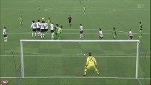 サッカーJ2 最下位ガイナーレが首位・神戸と対戦
