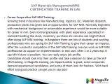 SAP Materials Management(MM)CERTIFICATION TRAINING IN UAE@magnifictraining.com