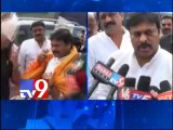 Chiranjeevi tours Visakha to asses damage caused by rain