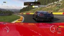 Forza Motorsport 5 - Du gameplay sur le circuit Spa Francorchamps