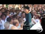 Aung San Suu Kyi a Roma: emendare Carta per una vera democrazia. Ricevuta al Colle e da Letta. Udienza dal Papa, poi con la Bonino