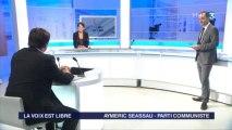 Aymeric Seassau dans la voix est libre sur france 3 Pays de la Loire