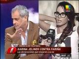 Pronto.com.ar Karina enojada con Intrusos