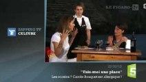 Zapping TV : la bourde d'Alessandra Sublet face à Carole Bouquet
