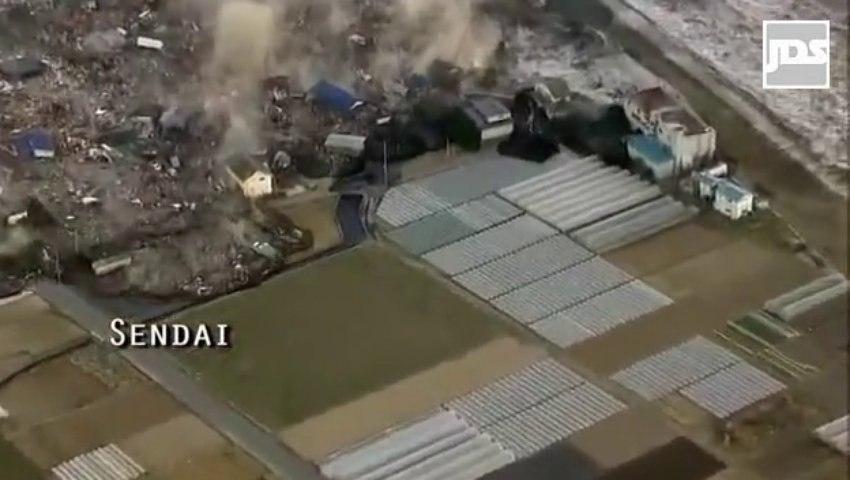 11 Mars 2011 : Témoin d'un désastre au Japon