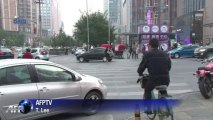 Chinese women shrug off Beijing police driving tips