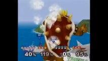 Super Smash Bros. Melee   Team Melee Gameplay   Part 6   Nintendo GameCube (GCN)   Corneria