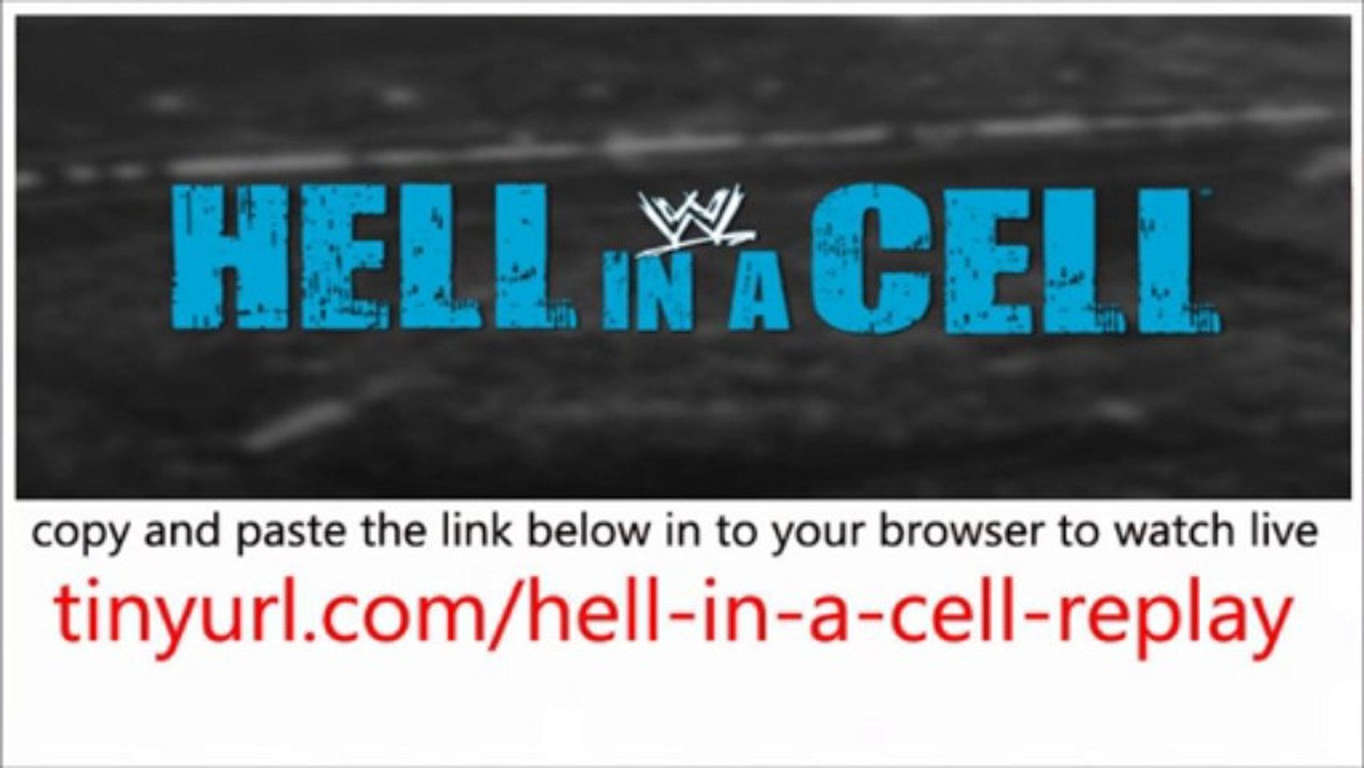 WWE.Hell.in.a.Cell.watch.Full.Replay.Online.Video